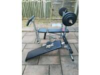 Press benches, barbell and weight plates - BARGAIN!!!