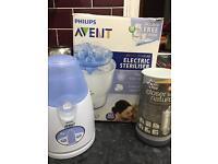 Avent Bottle Steriliser, Warmer and TT Travel Warmer