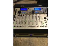 KAM twin CD mixer for DJ