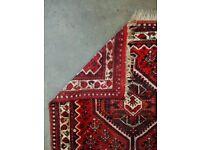 CASPER - Antique Traditional Vintage Persian Wool 167 x 114cm Handmade Carpet Rugs