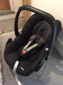 Maxi Cosi Pebble car seat (not isofix)