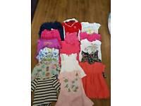 assortment girls clothes