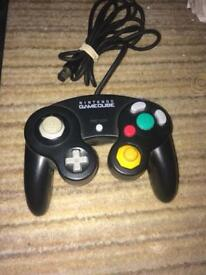Official black Nintendo GameCube controller
