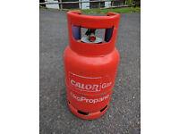 Full 6kg Calor Gas propane bottle, no exchange bottle required