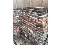 Over 300 mixed Georgian Red and Victorian yellow bricks