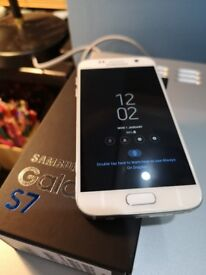 Samsung S7 32GB White, UNLOCKED.