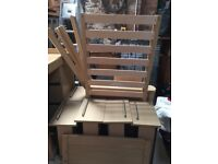 MAMAS AND PAPAS HORIZONS COT/BED PLUS CHEST OF DRAWERS AND TALL BOY