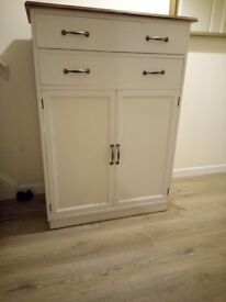 Cupboard with drawer's great storage!
