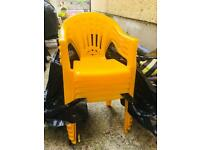 5 x children garden chairs