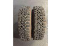 4x4 kingpin tyres