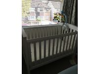 Boori country collection cot and changing table