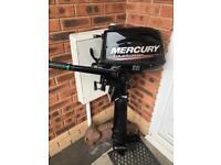 Mercury 5hp 2014 outboard long shaft