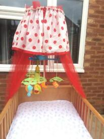 Baby bed from birth up to 4 years