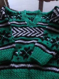 Children's hand knit Jumpers And hats