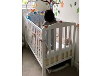 Darlington Cot - Mothercare White