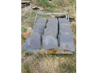 "12""x14"" reclaimed roof slate"