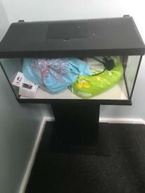 2 x 52ltr fish tanks full set ups