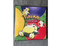 Pokemon book with lots of RARE cards!
