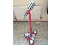 Early learning centre microphone with stand & music sounds