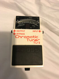 Boss TU-3 Chromatic Tuner Pedal - Great conditions!