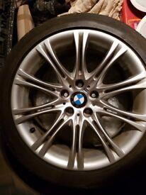 Genuine BMW MV2 Alloy Wheels.8jx18 245/40/18