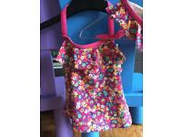 Girls 2 piece swim suit John Lewis age 4