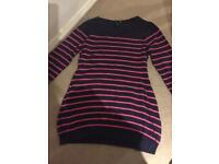 H&M maternity stripe jumper - size Small