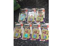 7 x packs Pokemon trading cards