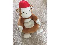 Brand new baby sit me up monkey