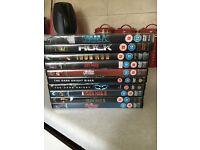 various superhero dvds