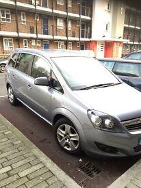 Vauxall zafira 2012