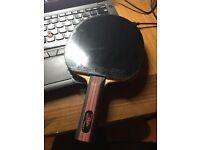 Nittaku Violin table tennis blade ST with rubbers