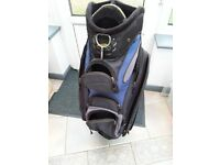 Powakaddy golf bag for Powakaddy electric golf trolley (without top cover)