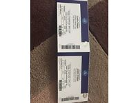 2 x Justin Bieber tickets for sale! £200 FOR THE PAIR
