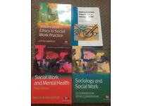 4x social work related books