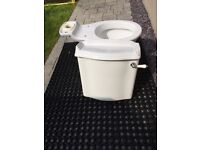 Brand new unused toilet sistern and bowl( excluding seat) available immediately.