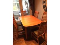 Real oak Table and Chairs