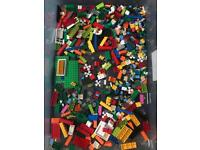 Large selection of Lego pieces