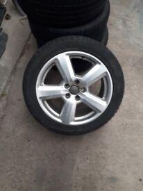 "Audi 17"" alloys"
