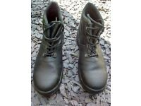 Steel Cap Boots - Size 9
