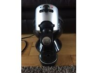 Krups Dolce Gusto Coffee Machine - black and silver (excellent used condition)
