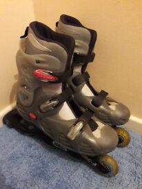 Size 43 (= 9 1/2) Omega dfx Inline Skates