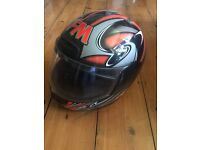 Genuine FM Motorcycle helmet Size 54 - ideal for child & hardly used