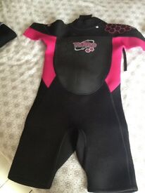 2 x wetsuits