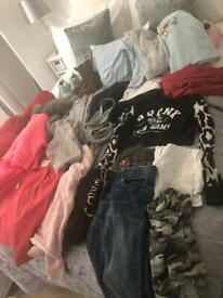 Girls clothes bundle 9/11 yrs. 35 items min