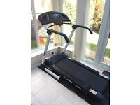 York Active 120 Treadmill and Mat