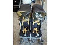 Maclaren Twin Techno double pushchair