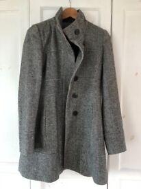 Ladies coat grey
