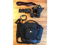 Canon 60D plus full kit