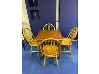 Oak Kitchen Table and Chairs (Brand New) *SALE*